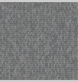 knit texture melange gray color seamless pattern vector image vector image