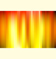 orange and yellow shine stripes background concept vector image vector image