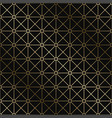 stylish art deco geometric pattern vector image vector image