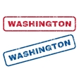 Washington Rubber Stamps vector image