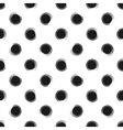 Abstract seamless pattern of grunge polka dots vector image vector image