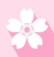 Cherry Blossom Icon vector image