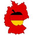 German Capsicum vector image vector image