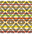 Hand drawn striped colorful seamless pattern vector image