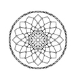 Mandala Ethnic decorative element Hand drawn vector image vector image