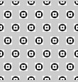 pattern with circles and squares repeatable vector image vector image