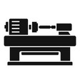 trim carpentry icon simple style vector image vector image