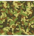 Woodland Camouflage Seamless Pattern vector image