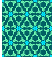 abstract geometric blue green seamless pattern vector image vector image
