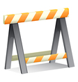 An under construction sign vector image vector image