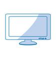 computer screen techonlogy vector image vector image