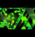 environmental abstract background cartoon vector image vector image