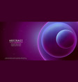 liquid color background design purple violet vector image