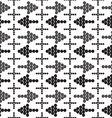 ornament seamless arrowsCross vector image
