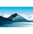 Polar Landscape vector image vector image