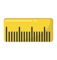 rule school supply isolated icon vector image vector image