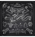 super christmas set vector image