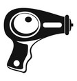 water pistol icon simple style vector image