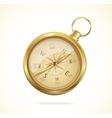retro style metal compass vector image