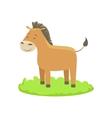 Donkey Farm Animal Cartoon Farm Related Element On vector image vector image