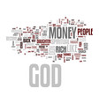 god don t like rich people text background word vector image vector image