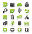 internet Interface Icons vector image