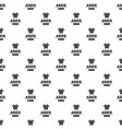military axe pattern seamless vector image vector image