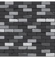 Brick wall seamless patterns vector image