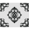 Classic damask ornament design vector image vector image