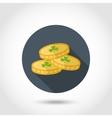 Coins Leprechaun icon vector image vector image