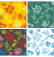 Fishes seamless pattern set vector image vector image
