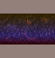 horizontal abstract falling drops vector image vector image