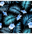 Tropical flower vector image vector image