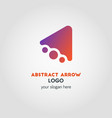 abstract business logo template with color vector image