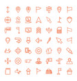 49 pointer icons vector image vector image