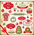 Collection of christmas elements vector | Price: 3 Credits (USD $3)