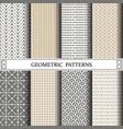 geometric patternpattern fills web page vector image