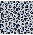 muted seamless leopard pattern in shades muted vector image