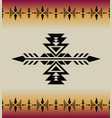 native southwest american indian aztec vector image
