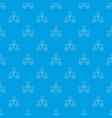 office team pattern seamless blue vector image