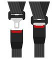 Open and closed safety belt