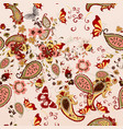 pattern for wallpaper design with ornament vector image vector image