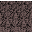 Pattern ornament skull vector image