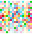 rainbow colors are random scattered vector image