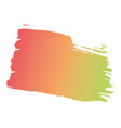 brush ink color painted watercolor splotch vector image vector image