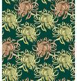 Chrysanthemum pattern2 vector image vector image