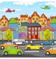City cartoon vector | Price: 1 Credit (USD $1)