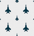 fighter icon sign Seamless pattern with geometric vector image