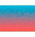 Gradient 2D triangle geometric multicolor vector image vector image