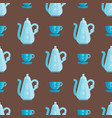 kitchen utensils seamless pattern vector image vector image